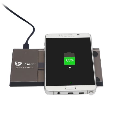 [$20.00] Itian A10-10W Rectangle Qi Standard Wireless Charger for Samsung Galaxy S6 edge + / Note 5, US Plug