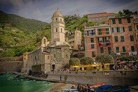 Cinque Terre, Italia, Playa