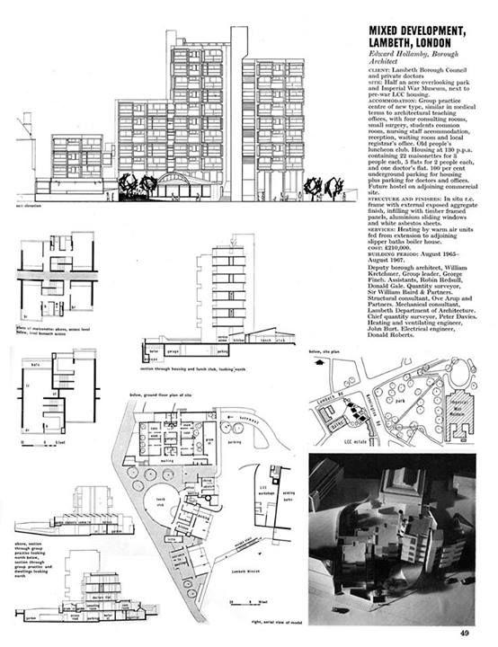 Lambeth Towers, London SE11 Architect: George Finch