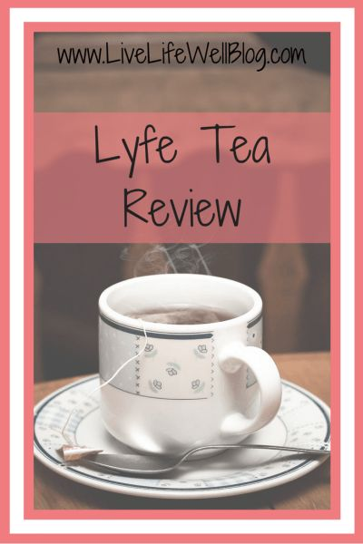 Thinking about doing a teatox? Find out about my experience with Lyfe Tea's 14 Day Teatox