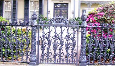 Wrought Iron Fence Gates, Wrought Iron Fences, Wrought Iron Gates ...