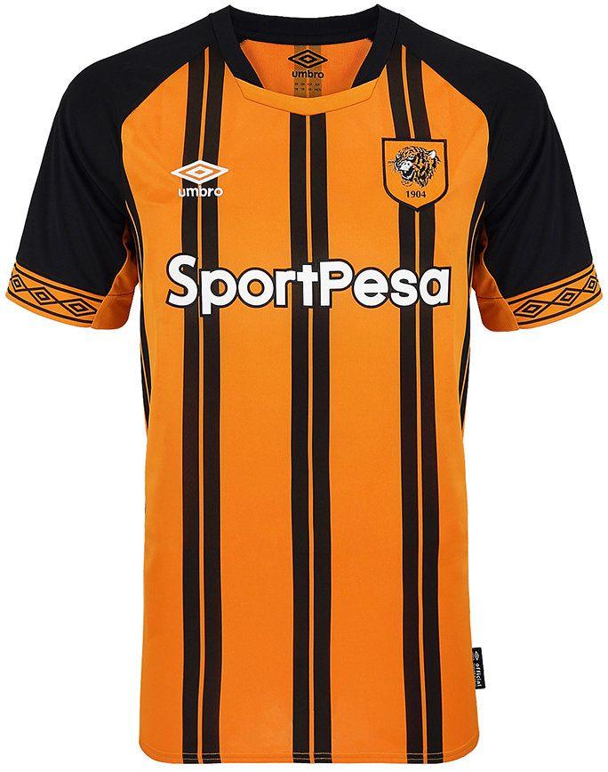 Hull City 2018 19 Home Camisetas De Futbol Jersey Atletico Madrid Camisetas