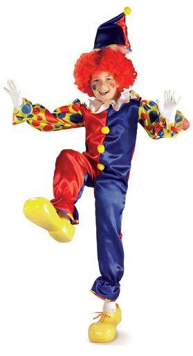 Bubbles The Clown Child Costume.