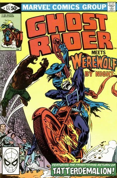 GHOST RIDER #55  MARVEL COMICS GROUP  APRIL 1981  $.50