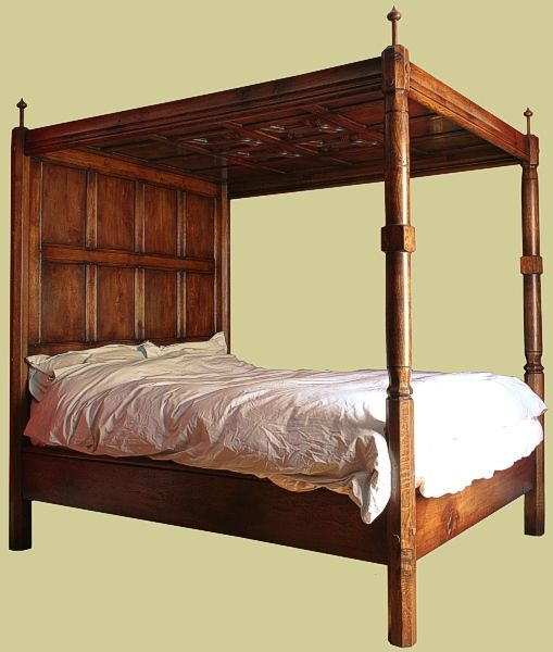 17 best images about oak beds reproduction on pinterest for Four poster headboards