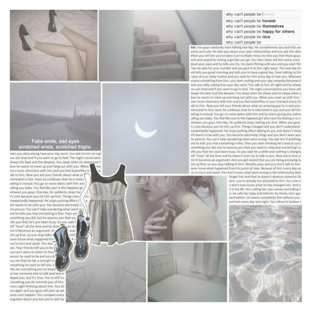 """""""i think the saddest thing is how it is so much easier to just not say anything at all."""" by insert-all-magic-here ❤ liked on Polyvore featuring GET LOST, Gypsy, Prophecy and Dr. Martens"""