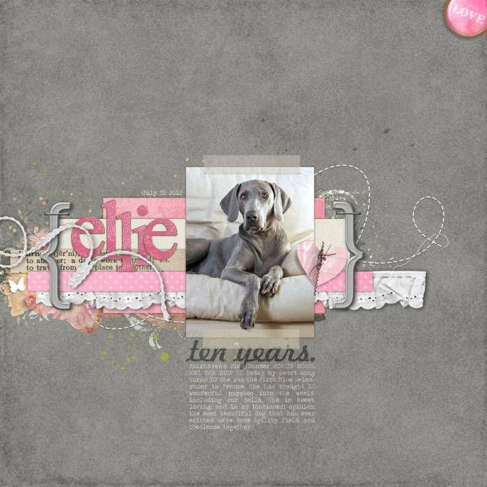 Ellie 10 years - Digital Scrapbooking Ideas - DesignerDigitals