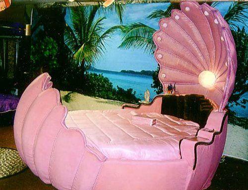 Pink Mermaid Shell Bed Mermaid Closet Pinterest