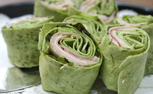 Epicure's Turkey Tortilla Pinwheels