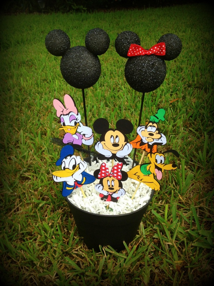 Mickey Mouse Clubhouse Party Centerpiece. | Party Time ...