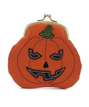 Orange  (Orange) Orange Evil Pumpkin Coin Purse | 264867280 | New Look