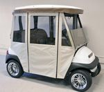 Club Car Precedent with Custom Golf Cart Enclosure