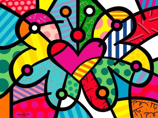 Ромеро Бритто Сердце-бабочка