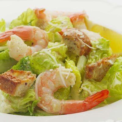 Shrimp, Caesar salad and Caesar salad recipes on Pinterest