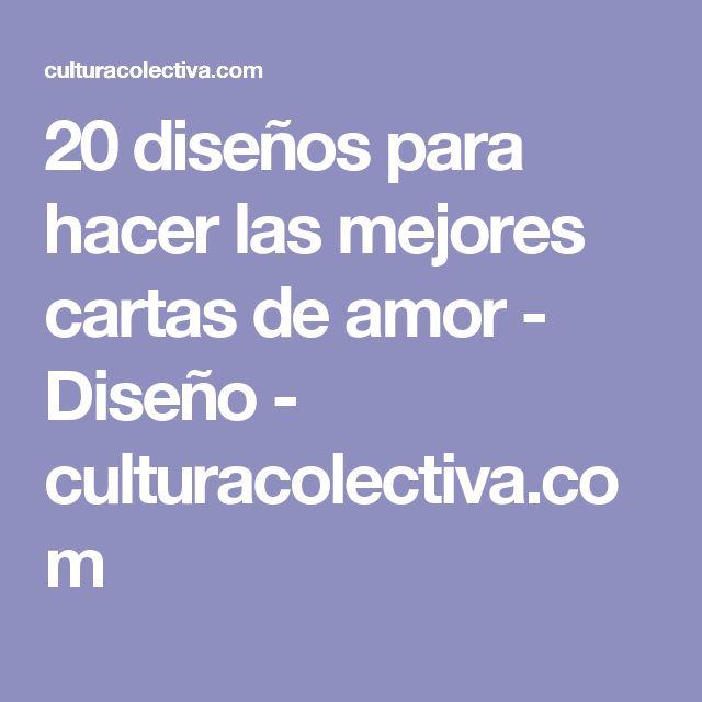 20 diseños para hacer las mejores cartas de amor - Diseño - culturacolectiva.com