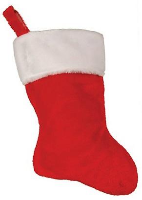 "HomeSeasons.com - Christmas 18"" Plush Stocking    http://www.homeseasons.com/Christmas-Decorations/Christmas-18-Plush-Stocking-p467.html"