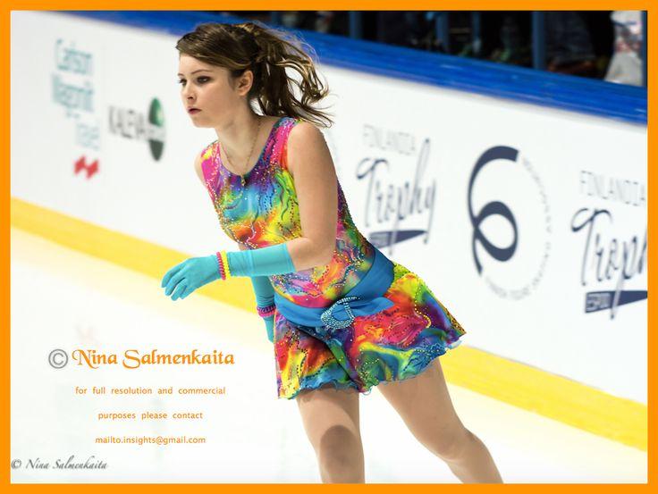 Julia Lipnitskaja RUS at Finlandia Trophy Octobr 2015
