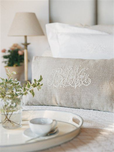 Personalize the guest bedroom.