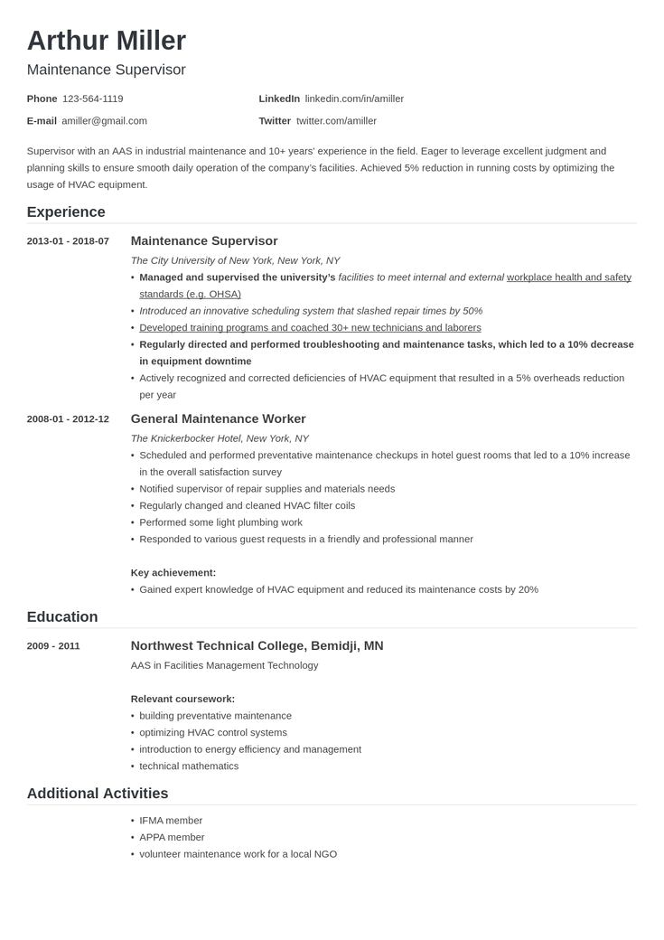 Resume Template With Headshot Photo Cover Letter 1 Page Word Resume Design Diy Cv Template Resume Examples Job Resume Examples Modern Resume Template