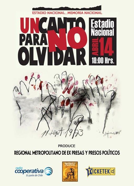 Un canto para no olvidar: 14 de abril en el Estadio Nacional http://t.co/aRVXhhXm