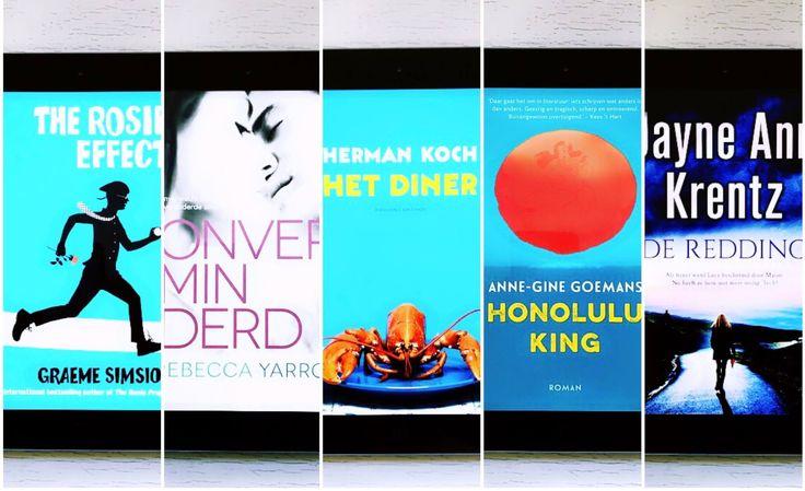 Een nieuwe maand en weer genoeggood readsom te lezen! So many books, so little time. Deze maand tik ik de volgende boeken van mijn To Be Read lijstje.