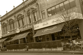 Loved going to this place. Brunetti's in Carlton.