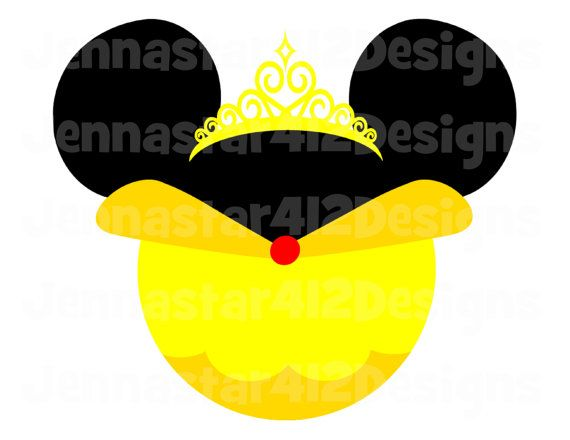 Disney Inspired Beauty And The Beast Minnie Princess Belle