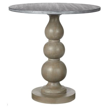Small Orb Side Table, Vintage Oak