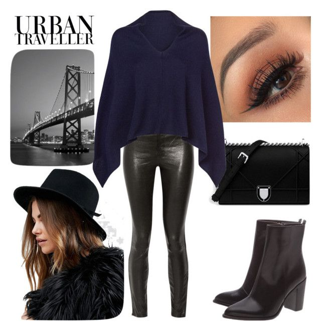 """SF_18"" by la-ballona ❤ liked on Polyvore featuring J Brand, Lamberto Losani, Bico, Brewster Home Fashions and Brixton"