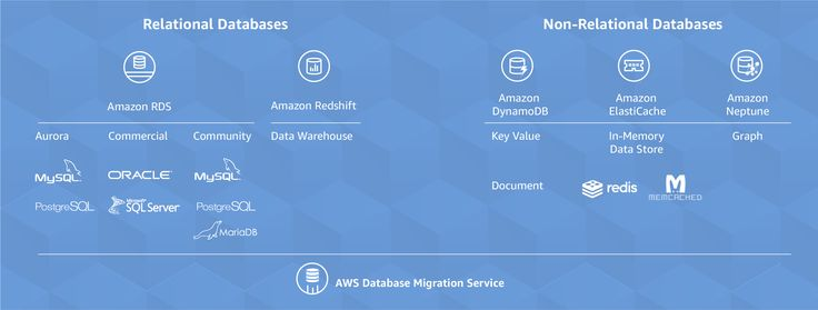 AWS offers a broad range of databases purpose-built for your specific application use cases. Our fully managed database services include relational databases for transactional applications, non-relational databases for internet-scale applications, a data warehouse for analytics, an in-memory data store for caching and real-time workloads, and a graph database for building applications with highly connected data. If you are looking to migrate your existing databases to AWS, the AWS Database…