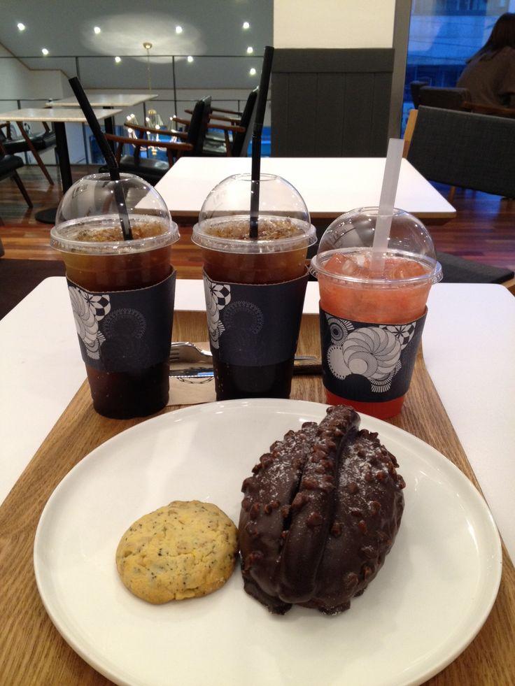 Boon the Bread #Bakery #Cafe #Coffee #Americano #Grapefruitade #Cookie