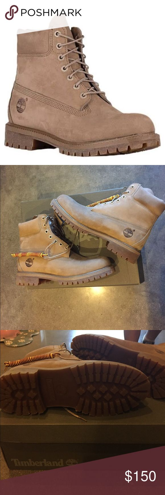 BRAND NEW MENS NUDE TAN TIMBERLANDS Brand new, in box. Never worn!!! Timberland Shoes Boots