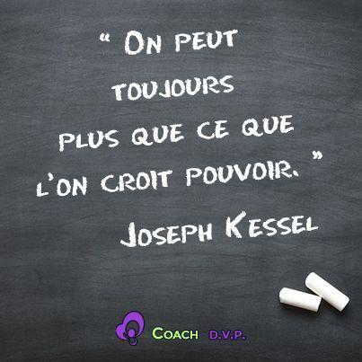 Inspirational Quote: Citations motivantes Coaching D.V.P.