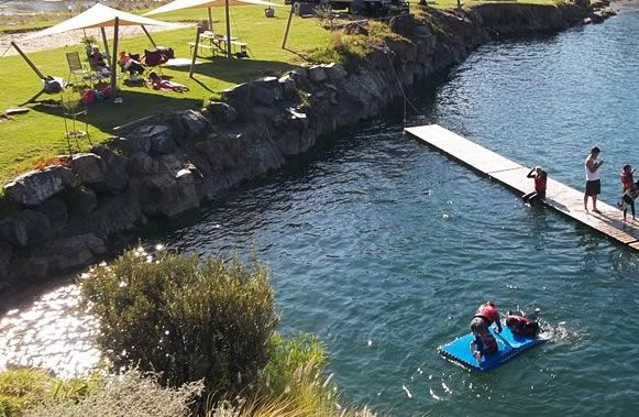 Blue Rock Cable Ski Park - Somerset West - Cape Town - Western Cape - South Africa