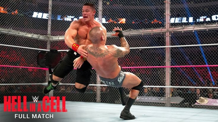 FULL MATCH — John Cena vs. Randy Orton - Hell in a Cell Match: WWE Hell in a Cell 2014  ||  John Cena and Randy Orton battle inside Hell in a Cell for a future WWE World Heavyweight Title Match against Brock Lesnar: Courtesy of the award-winning WWE... https://www.youtube.com/watch?v=0bGlsreLBMA