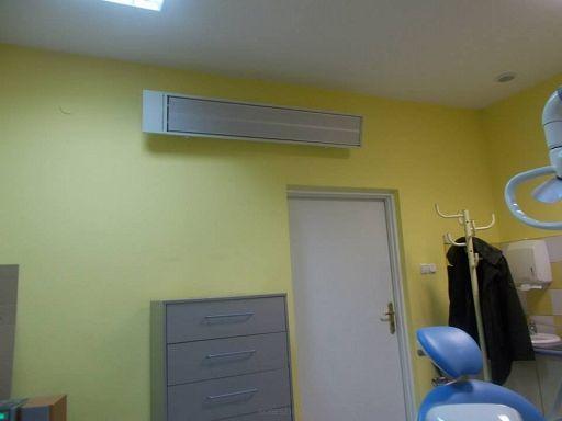 Panel grzewczy model Radium - ogrzewanie gabinetu stomatologicznego