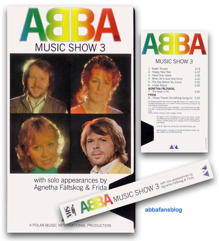 "The third and final Abba video in the series ""Abba Music Show"" was released in 1983 and included six Abba videos plus solo tracks from Agnet... #Abba #Agnetha #Frida http://abbafansblog.blogspot.co.uk/2015/11/abba-music-show-3.html"