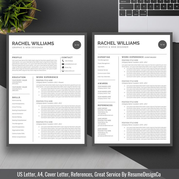 Resume Templates Job Planners Cover Letter Template