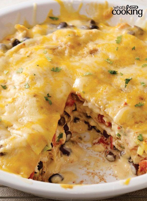 Santa Fe Chicken Casserole #recipe