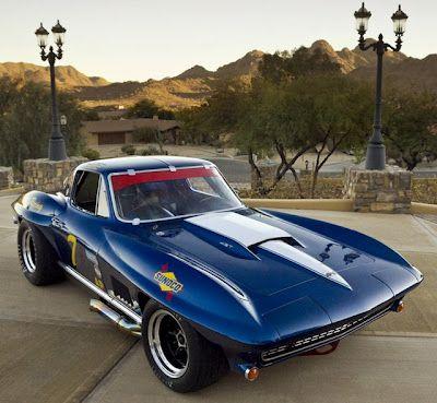 Autos no tan comunes (Corvette 427 Pickett Racing)
