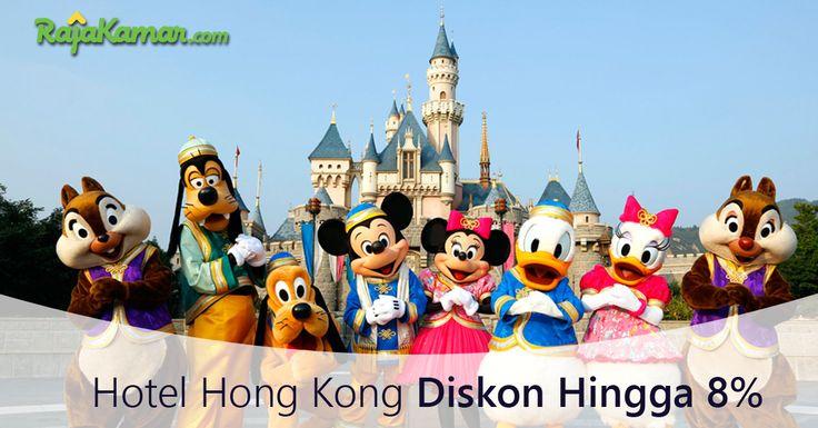 Dapatkan diskon hingga 8% di Hong Kong, segera lakukan pemesanan hotel di rajakamar.com