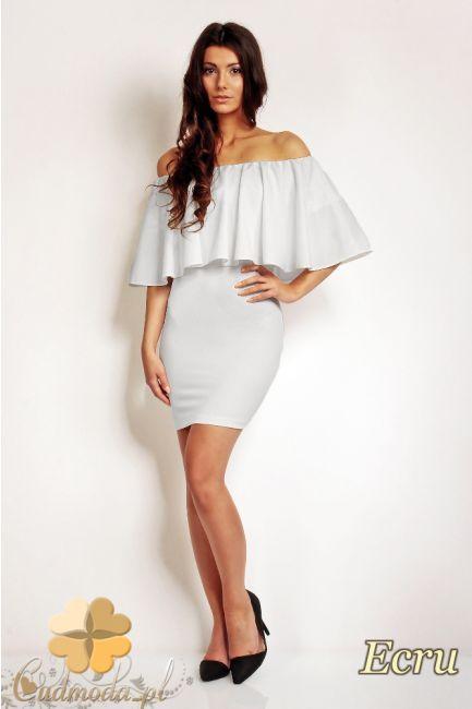 Dopasowana sukienka do kolana marki Karen Styl.  #cudmoda #moda #ubrania #odzież #clothes #dresses #kleid #sukienki
