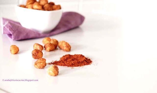 Snack sfizioso di ceci alla paprika