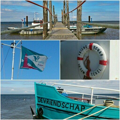 """De Vriendschap"" ferryservice between 2 dutch islands Texel-Vlieland, since 1983."
