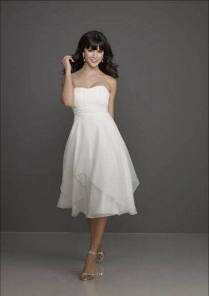 Vestidos de novia cortos: diseños que te enamorarán. ¡Elige el tuyo! Image: 23