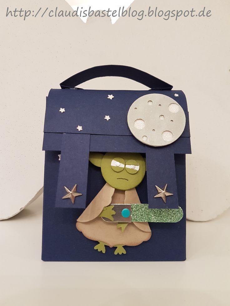 Ein Schulranzen mit Yoda - mehr auf http://claudisbastelblog.blogspot.de