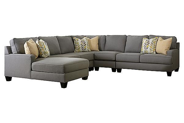 The chamberly 5 piece sectional from ashley furniture for Modular sectional sofa ashley furniture