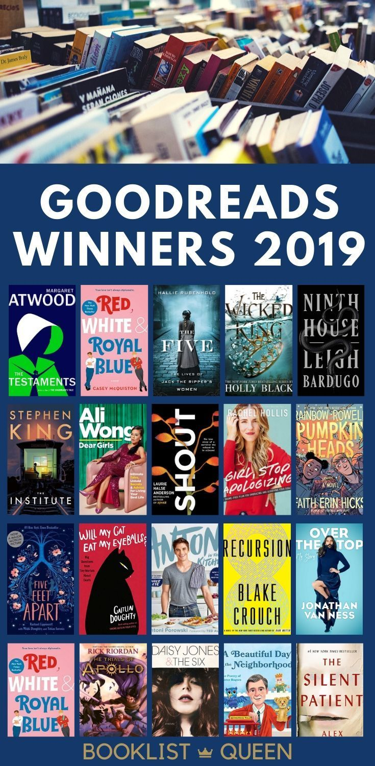 Goodreads Awards 2019 The Year's Most Popular Books