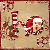 12x12 Santa Scrapbook Page | Scrapbooking
