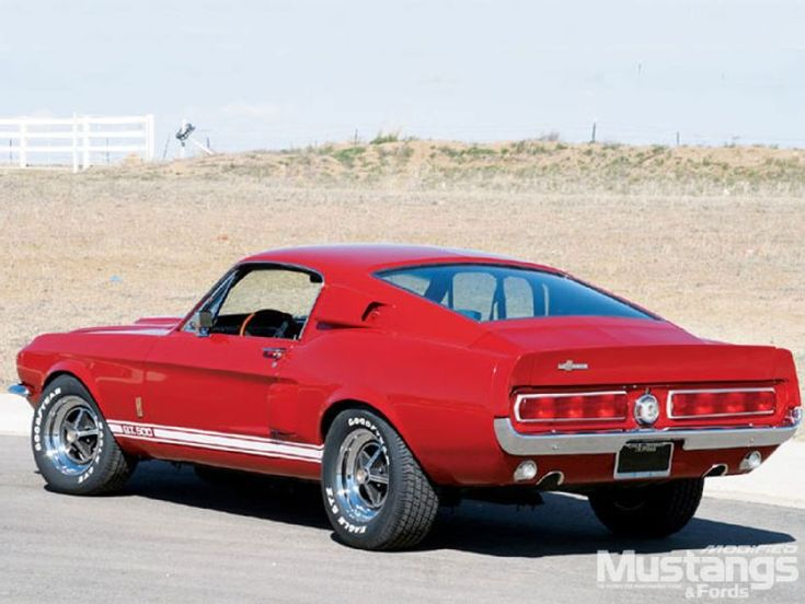 1967 Ford Shelby Mustang GT500 (Rear)